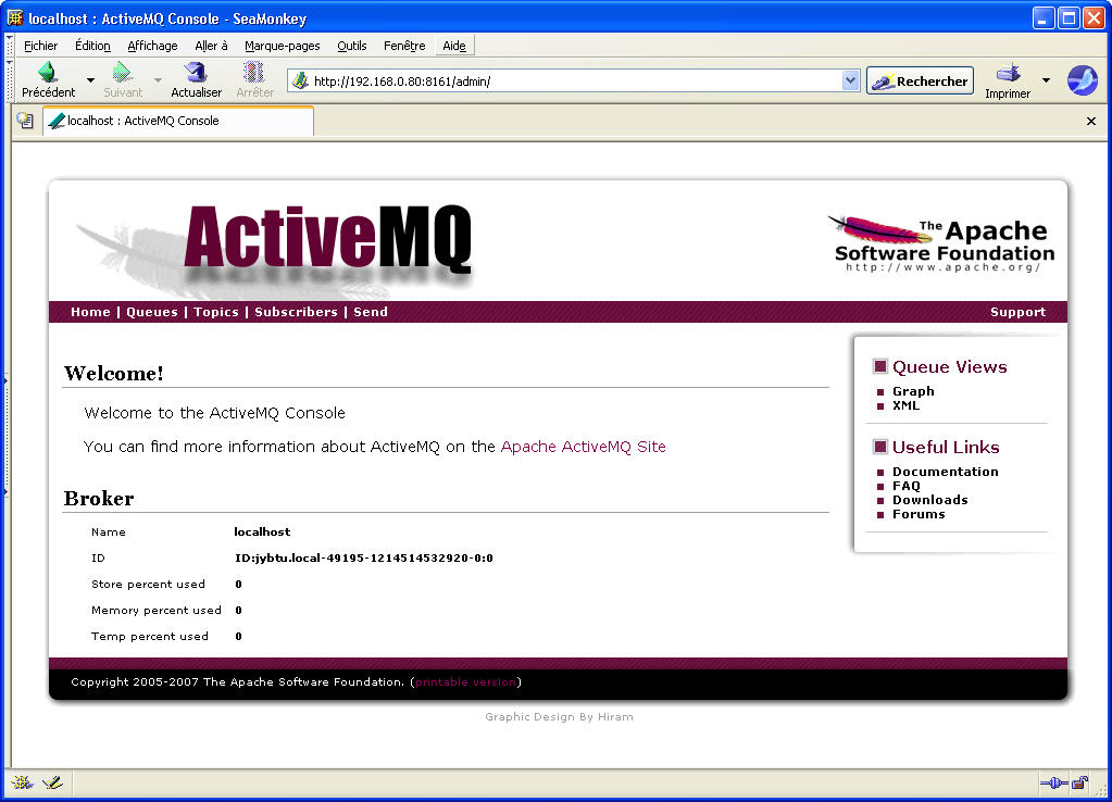 Free softwares for OpenVMS: activemq
